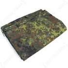 Original GERMAN ARMY FLECKTARN Camo ZELTBAHN - Half Shelter WW2 Surplus