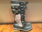 SOREL BOOT CONQUEST CARLY II COLOR BLACK KETTLE STYLE NL 2273-010