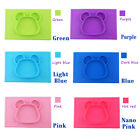 AmiraMat Silicone Children Placemat ByJojo All-in-One Compartment Suction Plate