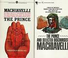 MACHIAVELLI 2 BOOKS THE PRINCE AND SELECTED DISCOURSES