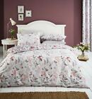 Catherine Lansfield Botanical Gardens Floral Bedding Pink Red White
