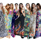 L/XL/2X/3X/4X/5X/6X Plus Size Womens Summer Boho Maxi Long Party Beach Dress