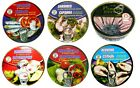 Assorted Canned Riga Sprots Fish Natural European Seafood Easy Open Cans Set 6