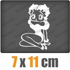 Betty Boop sitting csf0514 8 x 11 cm JDM Sticker Decal $5.02 AUD