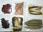 PRESERVED SEA PIKE BAIT SQUID WHITE BAIT RAGWORM BLACK LUG SANDEEL MACKEREL
