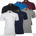 Lyle & Scott Homme Kelso Chemise Polo Golf Performance Coton Polyester SP330G