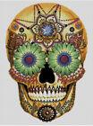 Cross stitch chart, pattern. Day of the dead, Sugar, Skull, Calavera, Mexico #14