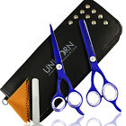 Pro Hair Scissors  Professional Cutting Thinning Shears Barber Set Hairdressing