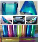 Self Adhesive Headlight Tint CHAMELEON NEO LIGHT WRAP BLUE TINT. CHOICE OF SIZE
