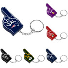 NFL Football Team Color Logo #1 Finger Keychain - Choose Team $7.99 USD on eBay