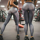 Women Fitness Leggings Running Gym Stretch High Waist Sports Pants Yoga Trousers
