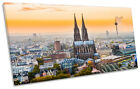 Cologne Germany City Skyline CANVAS ART Print Panoramic Picture