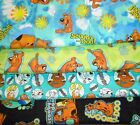 SCOOBY DOO #1  FABRICS Sold INDIVIDUALLY NOT AS A GROUP By the HALF YARD
