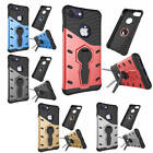 Fashion Hybrid Plastic Rubber Defender Cover Kickstand Case For Various Phones