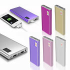 Universal Portable External 50000mAh 2 USB LCD Power Bank Backup Battery Charger
