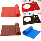 Kitchen Bakeware Mat Sheet Silicone Pastry Bakeware Baking Tray Oven Rolling