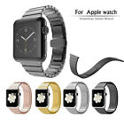 Stainless Inure Butterfly Lock Link Bracelet Watch Join Strap for Apple Watch