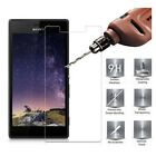 2PC Anti-explosion Clear Tempered Glass Screen Protector For SONY XPERIA Phone B