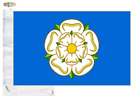 Yorkshire County Courtesy Boat Flag Roped & Toggled