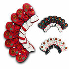 Iron Golf Head Covers Club covers White Red Black 8pcs Korean Golf