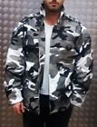 US Military Style M65 Lined Combat Jacket Urban Camo MOD/Scooter - All Sizes NEW