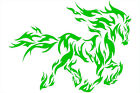 Multiple Color Graphics Strip Flame of Horse Running Car Racing Decal Sticker