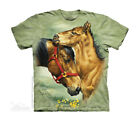 "The Mountain Kinder T-Shirt ""Meadow Horses"""
