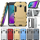 Built-in Kickstand Rugged Armor Hybrid Rubber Case For Samsung Galaxy On5 G5500