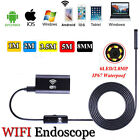 HD 6LED Wifi Endoscope Inspection Video Camera For iPhone Android IOS Windows