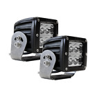 ALL MAKES AND MODELS RIGID 2 WHIDE WHITE D2 HD BLACK LED LIGHT