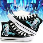 Vocaloid Hatsune Miku Casual shoes Cosplay Canvas Sneakers Shoes US size