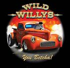 41 Willys Pickup Nostalgic Drag Racing Hot Rod T Shirt Small - 6XL Free Shipping