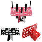 26 Hole Makeup Cosmetic Brushes Dryer Organizer Holder Hanger Drying Rack