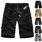 New Summer Sport Mens Casual Short Pants Camouflage Baggy Teens Cargo Trousers ;