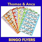 12000 Bingo Tickets 6 to View Flyers Singles Quickies