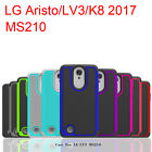 LG Aristo case /LV3/K8 2017 Cover Shock Absorbing Hybrid Rubber Plastic Scratch