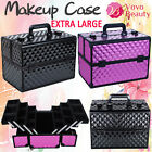 Extra Large Professional Portable Cosmetic Beauty Box Nail Makeup Case Organiser
