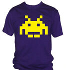 fm10 t-shirt uomo 4 SPACE INVADERS anni80 vintage OUTLET