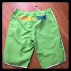 "Victoria's Secret ""Pink"" Green Long Board Shorts, XS"
