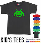 Space invaders cool retro T-Shirt Children Kid's new Size Charts Aussie store