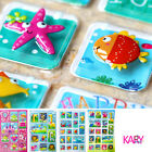 Prince Princess Animals Zoo Marine fishes Scrapbooking 3D Stickers For Kids Toys