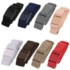 Women ladies Invisible Belt-Elastic Stretch Adjustable Slimming No Show Buckle