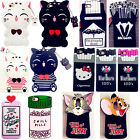 3D Cartoon Animals Silicone Rubber Gel Soft Case Cover For Various Phone Models