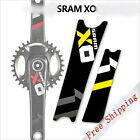 1 pair Mountain bike bicycle crank stickers SRAM X0 crankset protective decals