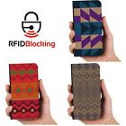 Aztec Luxury Flip Cover Wallet Card PU Leather Smart Phone Case Stand iPhone