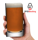 Beer Glass Luxury Flip Cover Wallet Card PU Leather Phone Case Stand Galaxy