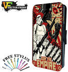 Star Wars Join The Empire Vader Storm Trooper - LEATHER FLIP PHONE CASE COVER £8.75 GBP