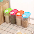 1.25L Food Grain Cereals Bean Rice Plastic Storage Container With Measuring up