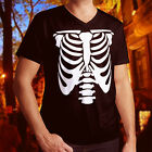 awesome rat cages - Rib Cage Body Skeleton Halloween Cool Awesome Funny Fun Mens V-Neck Tee T-Shirt
