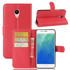 """9 Colors Stand Leather Case Flip Wallet Cover Pouch For MEIZU MeiLan 5S 5.2"""""""